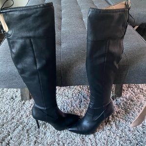 Leather Michael kors high boots